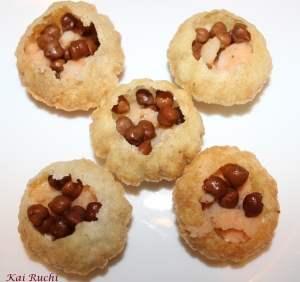Filled with potato and black chana