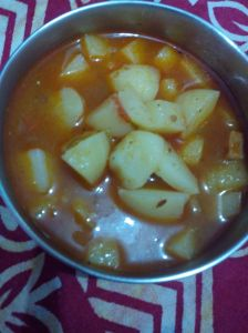 Aloo curry