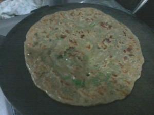 Millet flour pancake